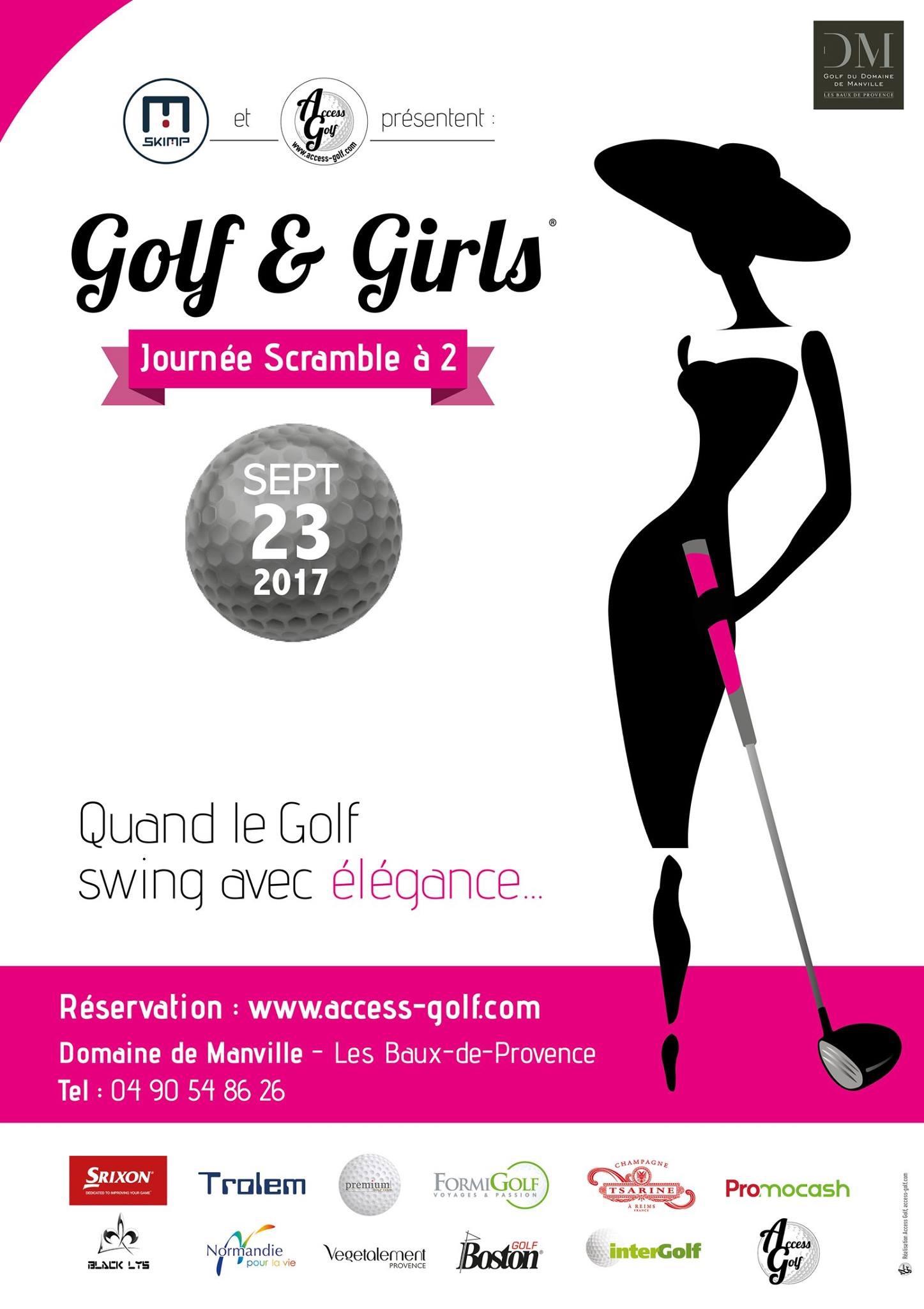 Affiche Golf & Girl 2017 : Vp partenaire beauté