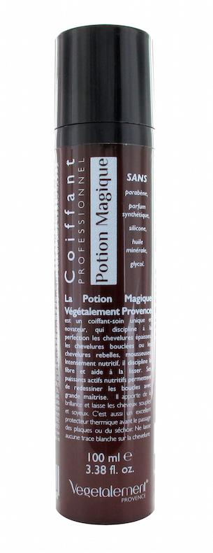 Potion magique coiffant-soin cheveux Végétalement Provence