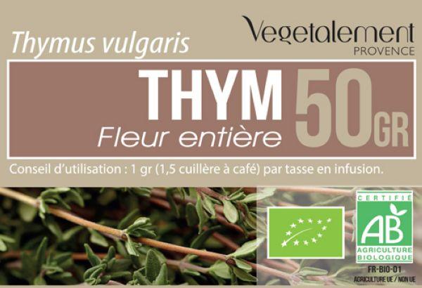 Tisane de thym BIO Végétalement Provence