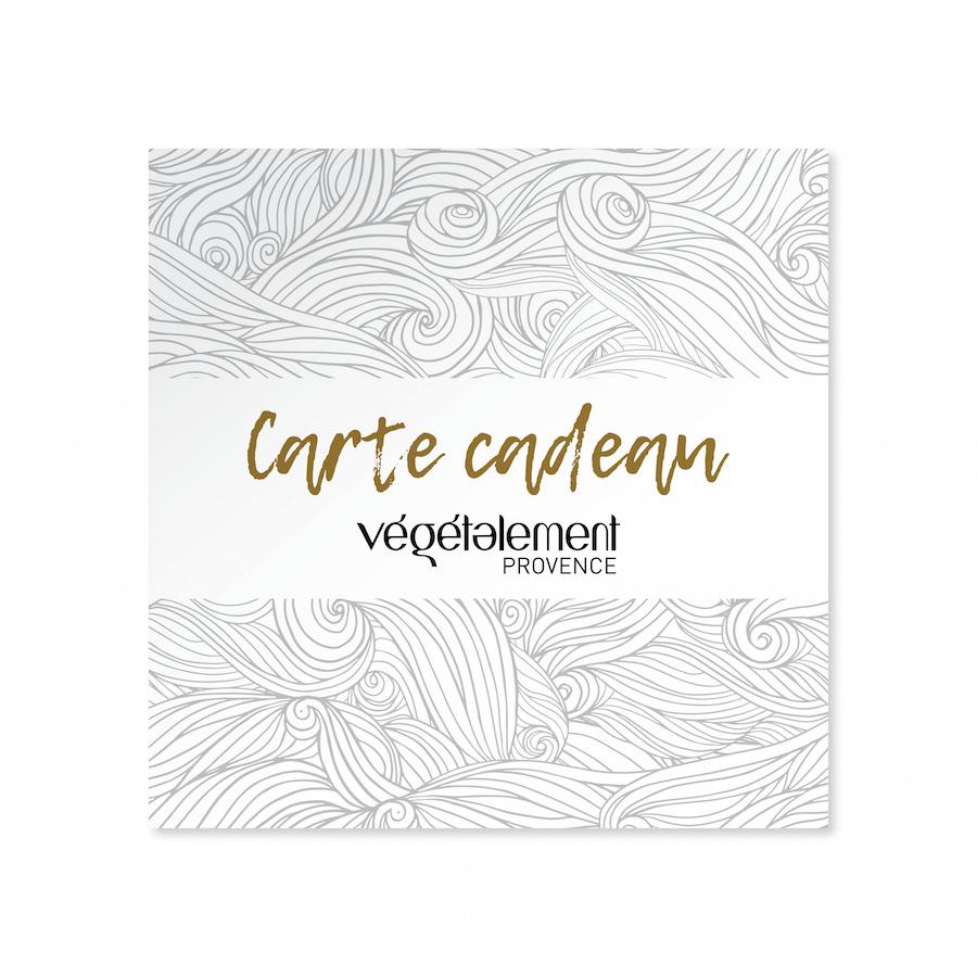 Carte Cadeau Végétalement Provence cosmétique alternative