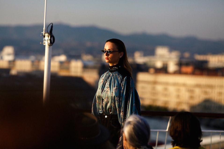 Végétalement Provence coiffe le défilé mode évènement KOCHE x OpenmyMed 2018 en collaboration avec la Maison Mode Méditerranée - Photo Baptiste Le Quiniou