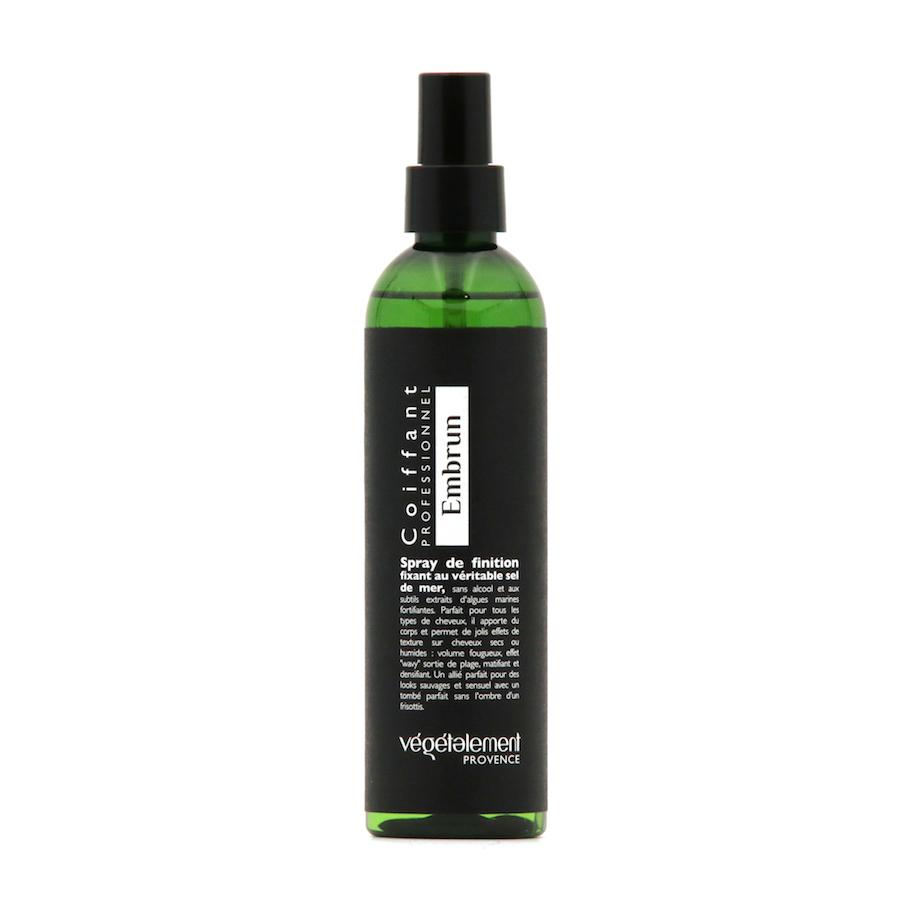 Embrun spray au sel coiffant soin Végétalement Provence