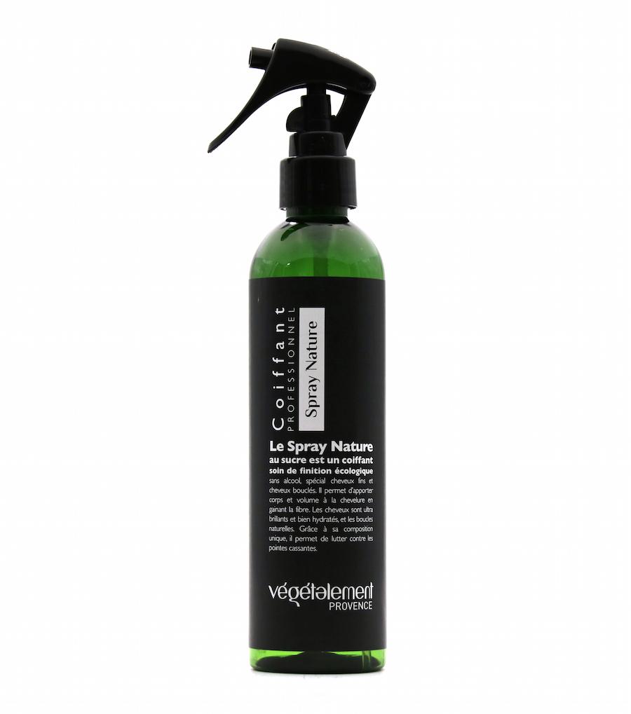 Spray nature au sucre coiffant soin Végétalement Provence