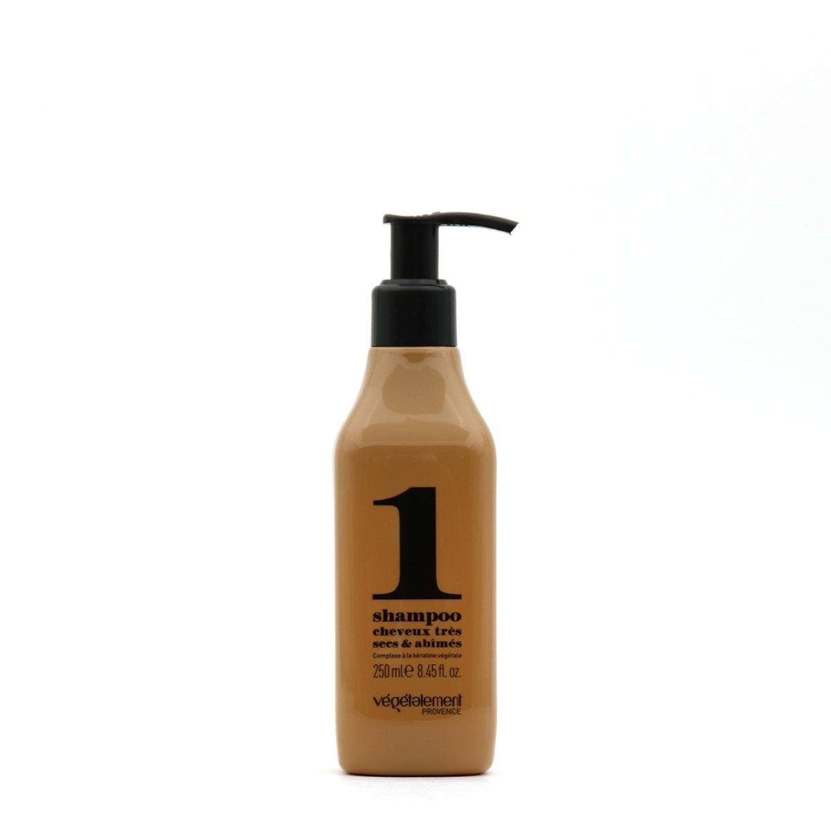 Shampooing kératine Végétalement réparateur